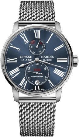Ulysse Nardin Marine Chronometer in der Version 1183-310-7MIL-43