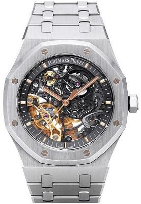 Audemars Piguet Royal Oak Double Balance Wheel Openworked 41mm mit der Referenz 115407ST-OO-1220ST-01