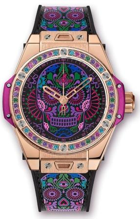 Hublot Big Bang One Click Calavera Catrina King Gold 39 mm in der Version 465-OX-1190-VR-1299-MEX18