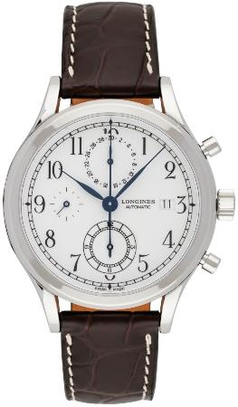 Longines Heritage Classic Chronograph 41mm in der Version L2-815-4-23-2