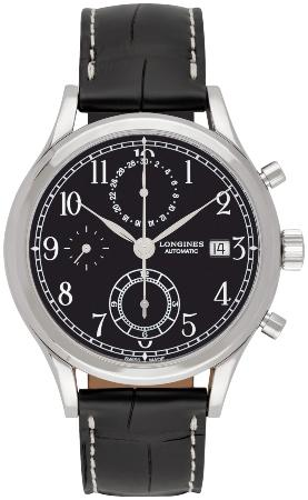 Longines Heritage Classic Chronograph 41mm in der Version L2-815-4-53-0