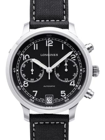 Longines Heritage Collection Heritage Military 1938 in der Version L2-790-4-53-0