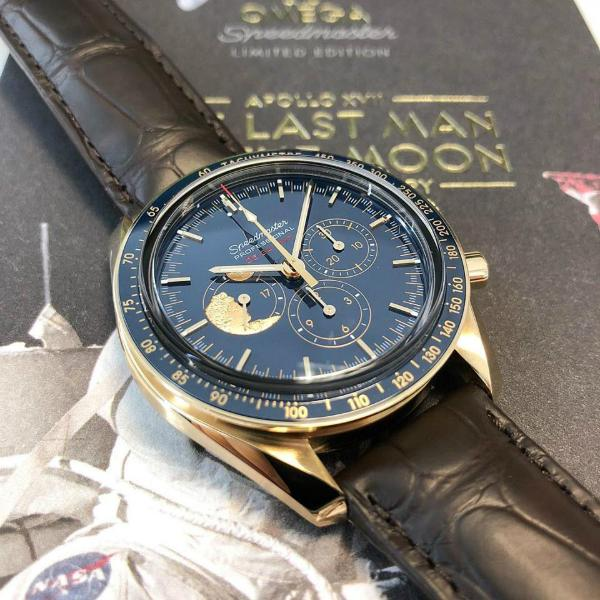OMEGA Moonwatch Apollo XVII limited to 272 pieces