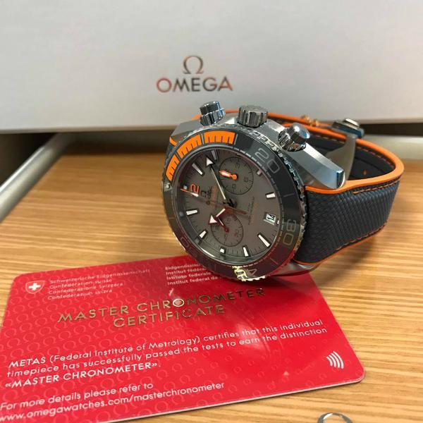 Omega Planet Ocean Master Chronometer Certificate