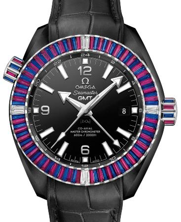Omega Seamaster Planet Ocean 600 M Co-Axial Master Chronometer GMT 45-5mm