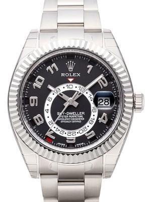 Rolex Sky-Dweller Referenz 326939 in 18K Weissgold