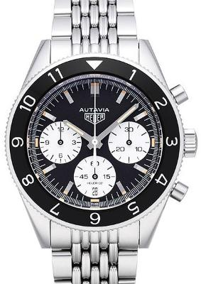 Tag Heuer Autavia Calibre HEUER 02 Automatic Chronograph 42mm in der Version CBE2110-BA0687