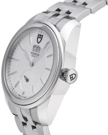 Tudor Glamour Double Date 42mm seitlich