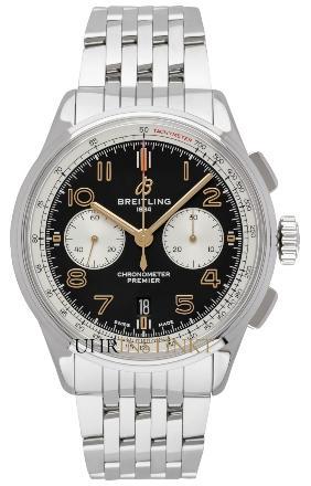 Breitling Premier B01 Chronograph 42 Norton mit der Herstellernummer AB0118A21B1A1