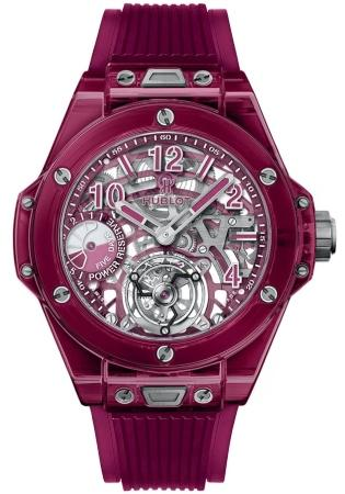 Hublot Big Bang Tourbillon Power Reserve 5 Days Red Sapphire 45 mm 405JR0120RT