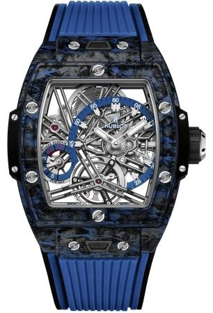 Hublot Spirit of Big Bang Tourbillon Carbon Blue 42 mm 645QL7117RX