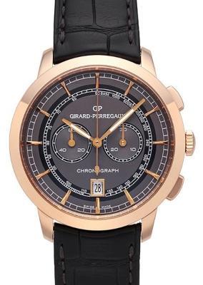 Girard Perregaux 1966 Column-Wheel Chronograph in der Version 49529-52-231-BA6A