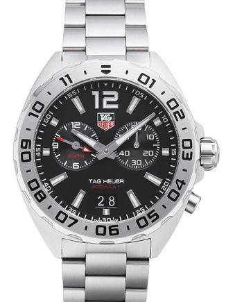 Tag Heuer Formula 1 Quarz Alarm in der Version WAZ111A-BA0875 Armbanduhr mit Wecker