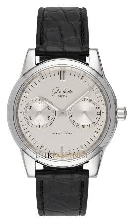 Glashuette Original Senator Zeigerdatum in der Version 1-39-58-02-02-04