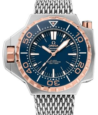 Omega Seamaster Ploprof 1200 M Co-Axial Master Chronometer 55x48mm in der Version 227-60-55-21-03-001