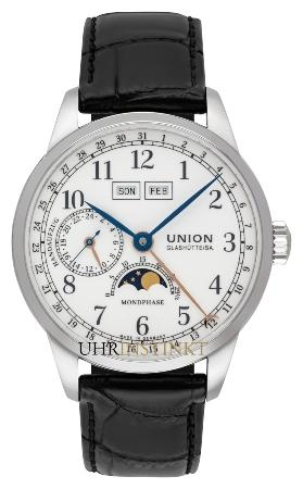 Union Glashuette 1893 Johannes Duerrstein Edition Mondphase in der Version D007-458-16-017-00