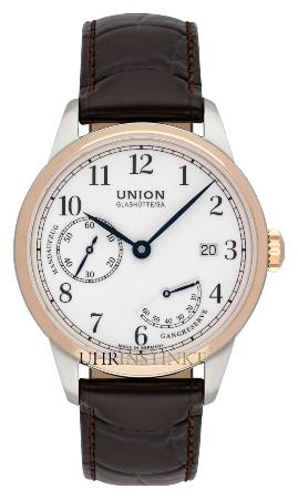 Union Glashuette 1893 Johannes Duerrstein Edition kleine Sekunde in der Version D906-456-26-017-00