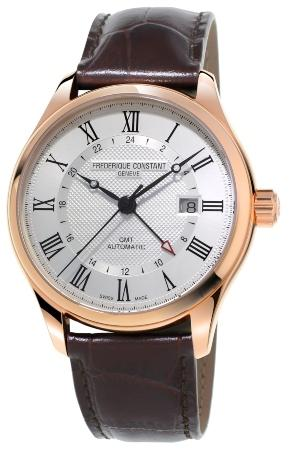 Frederique Constant Classics Automatic GMT in der Version FC-350MC5B4 zeigerformen-von-luxusuhren
