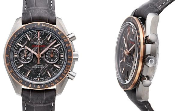 Omega Speedmaster Moonwatch Co-Axial Chronograph 44,25mm Meteorite in der Version 311-63-44-51-99-001
