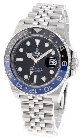Rolex GMT-Master II in der Version 126710BLNR, LC EU zeigerformen-von-luxusuhren