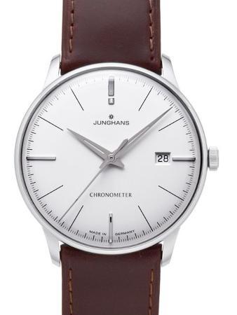 Junghans Meister Chronometer Herrenuhr Edelstahl silber junghans-uhren-altersbestimmung