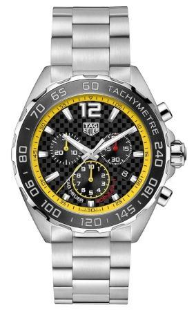 Tag Heuer Formula 1 Quarz Chronograph 43mm in der Version CAZ101AC-BA0842