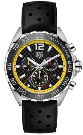 Tag Heuer Formula 1 Quarz Chronograph 43mm in der Version CAZ101AC-FT8024