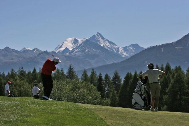 Golfplatz Crans-Montana