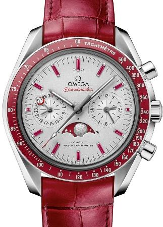 Omega Speedmaster Moonwatch Moonphase Chronograph 44,25mm faszination-uhrensammlung