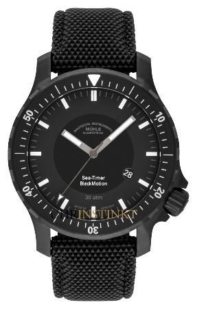 MUEHLE Glashuette Sea-Timer Blackmotion