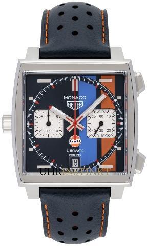 Tag Heuer Monaco Calibre 11 Automatik Chronograph Gulf Special Edition
