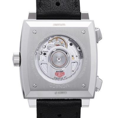 Tag Heuer Monaco Calibre 11 Automatik Chronograph Rueckseite