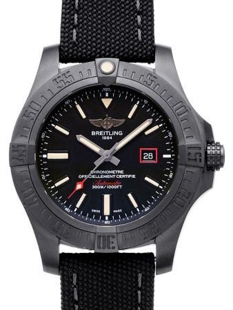 Breitling Avenger Blackbird 44 in der Version V17311101B1W1