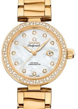 Omega De Ville Ladymatic Co-Axial 34mm in der Version 425-65-34-20-55-009