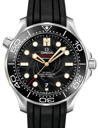 Omega Seamaster Diver 300 M Co-Axial Master Chronometer 42mm James Bond Limited Edition beliebteste-luxusuhren-2020