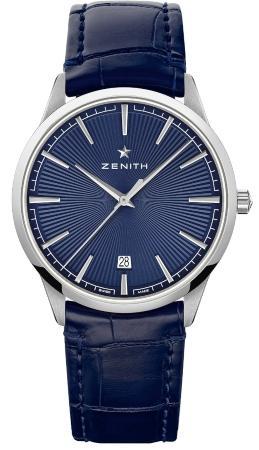 Zenith Elite Classic blau beliebteste-luxusuhren-2020