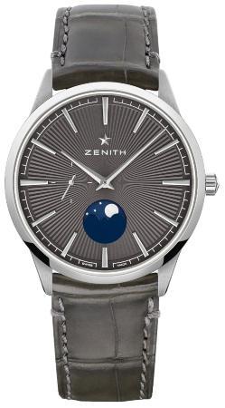 Zenith Elite Moonphase grau