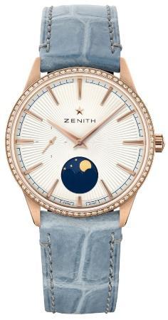 Zenith Elite Moonphase hellblau beliebteste-luxusuhren-2020