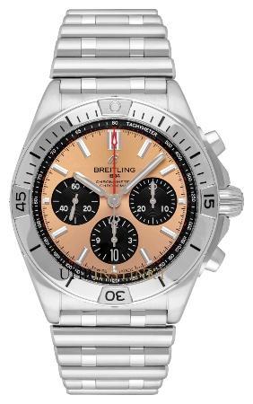 Breitling Chronomat B01 42 in der Version AB0134101K1A1 uhrenjahr-2021