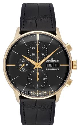 Junghans Meister Chronoscope Gold Limited Edtion
