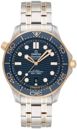Omega Seamaster Diver 300 M Co-Axial Master Chronometer 42 mm in der Version 21020422003001 sonnenschliff-wellenschliff-perlschliff