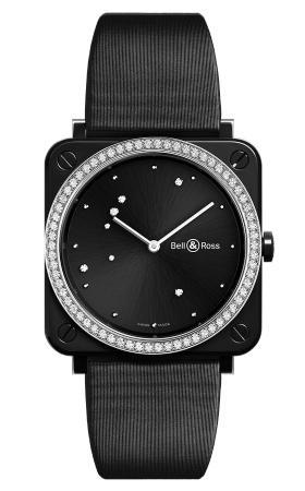 Bell Ross BR S BLACK DIAMOND EAGLE DIAMONDS