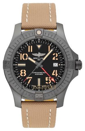 Breitling Avenger Automatic GMT 45 Night Mission praktische-jagduhren