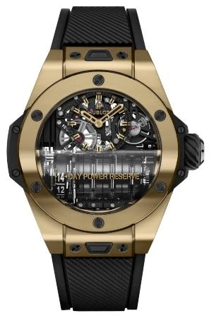 Hublot Big Bang MP-11 Power Reserve 14 Days Magic Gold 45 mm digitale-uhrenmesse