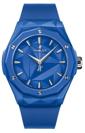 Hublot Classic Fusion Orlinski Blue Ceramic 40 mm