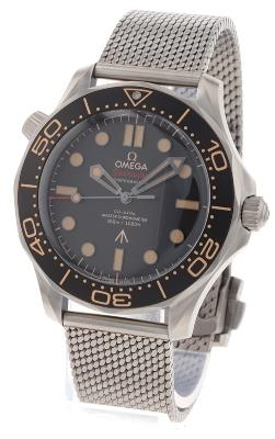 Omega Seamaster Diver 300 M Co-Axial Master Chronometer 42 mm 007 Edition in der Version 210-90-42-20-01-001w