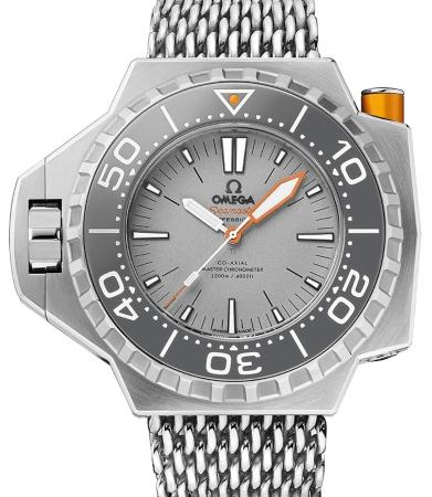 Omega Seamaster Ploprof 1200 M Co-Axial Master Chronometer 55x48mm in der Version 227-90-55-21-99-001