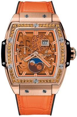 Hublot Spirit of Big Bang Moonphase King Gold Orange 42mm