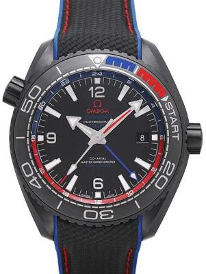 Omega Seamaster Planet Ocean 600 M Co-Axial Master Chronometer GMT 45,5mm ETNZ Deep Black
