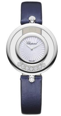 Chopard Happy Diamonds Icons in der Version 209426-1001 in 18 K Weissgold premium-quarzuhren-fuer-damen